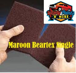 Norton Beartex Single Pad Maroon 150mm X 230mm