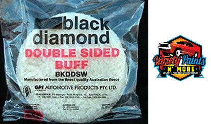 Black Diamond Double Wooly Buff Pad 215mm