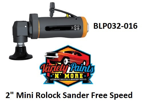 "2"" Mini Rolock Sander Free Speed"