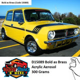 D15089 Bold as Brass-Mini 1971-73 Acrylic Spray Paint 300g