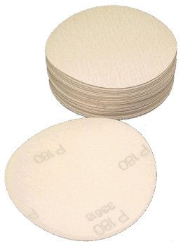 Norton No-Fil Velcro Disc 150mm No Hole 80 Grit Box 100