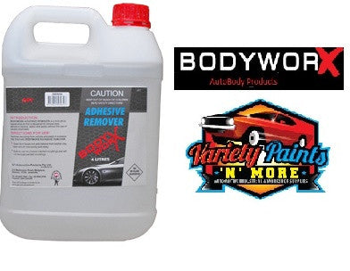 BodyworX Mould Adhesive Remover 4 Litre