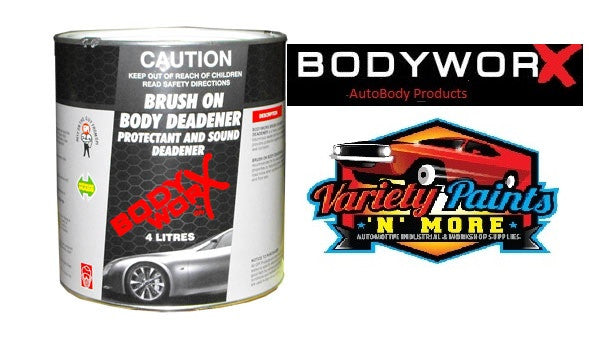 BodyworX Brushable Body Deadener 4 Litre