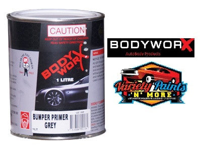 BodyworX Bumper Plastic Primer (EA Light Grey) 1 Litre