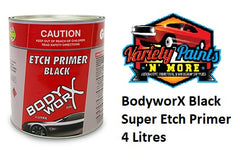 BodyworX Black Super Etch Primer 4 Litres