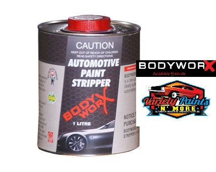 BodyworX Automotive Grade Paint Stripper 1 Litre