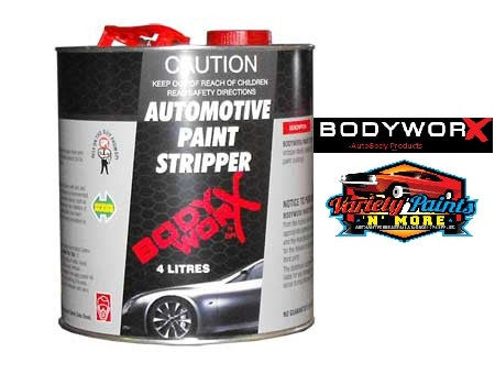 BodyworX Automotive Grade Paint Stripper 4 Litre