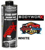 BodyworX Stone Guard White 1 Litre Variety Paints n More