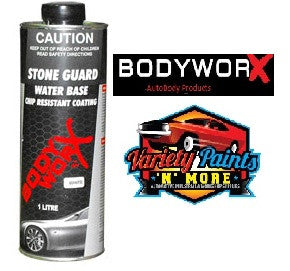 BodyworX Stone Guard Water Based White 1 Litre