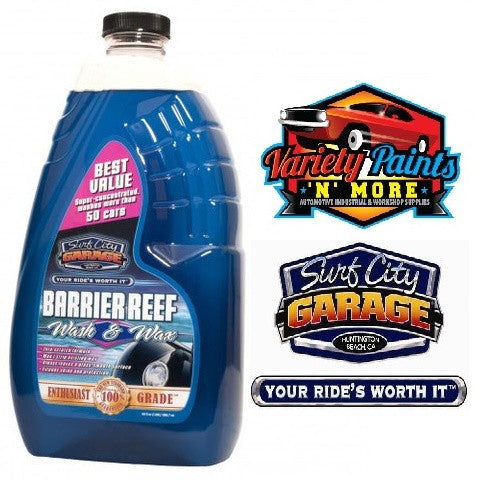 Barrier Reef Wash & Wax 64oz Surf City Garage 1.89 Litres