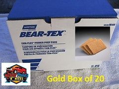 Norton Beartex Pads Gold 150mm X 230mm Box of 20