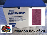 Norton Beartex Pads Maroon 150mm X 230mm Box of 20