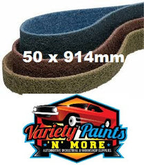 Norton BEARTEX Belt 50x914MM Coarse CX383430 Variety Paints N More