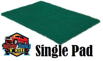 Norton Beartex Single Pad Green 150mm X 230mm VARIETY PAINTS