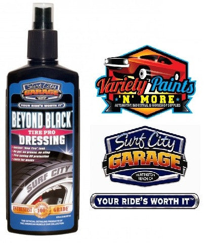 Beyond Black Tire Pro 8oz 236ml Surf City Garage