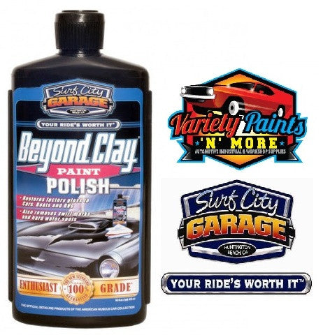 Beyond Clay Paint Polish 16oz Surf City Garage