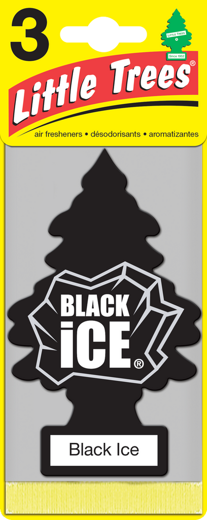 Little Tree 3 Pack Black Ice