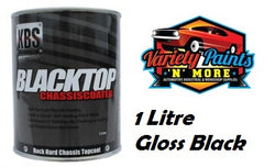 KBS BlackTop 1 Litre Gloss Black VARIETY PAINTS N MORE