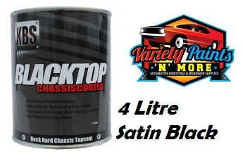 KBS BlackTop 4 Litre Satin Black