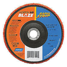 Norton 125m Blaze Rapid Strip Disc x 22mm Bore