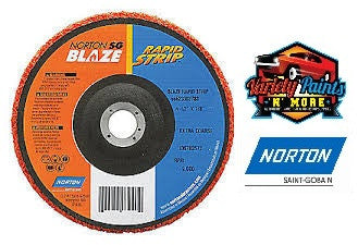 Norton 100mm Blaze Rapid Strip Disc x 16mm Bore