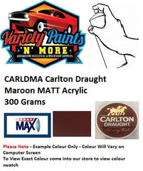 CARLDMA Carlton Draught Maroon Acrylic Spray Paint 300g