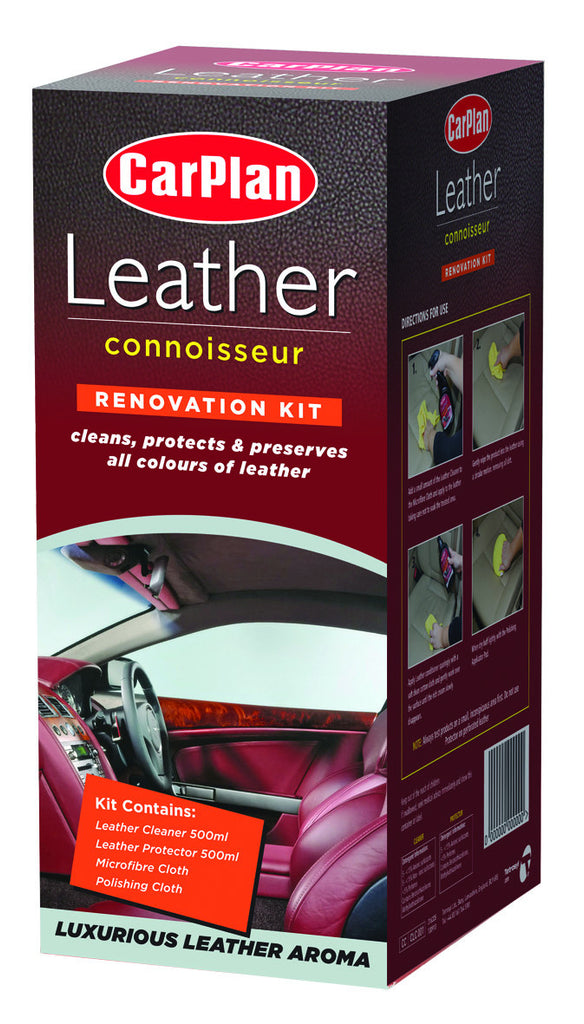 CarPlan Leather Connoisseur Kit