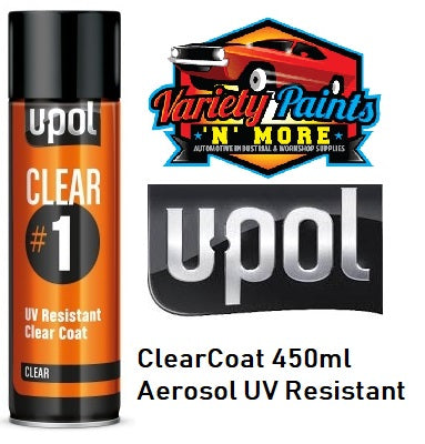UPol #1 Clearcoat Aerosol 450ml