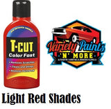 T Cut Colorfast Polish Light Red 500ml
