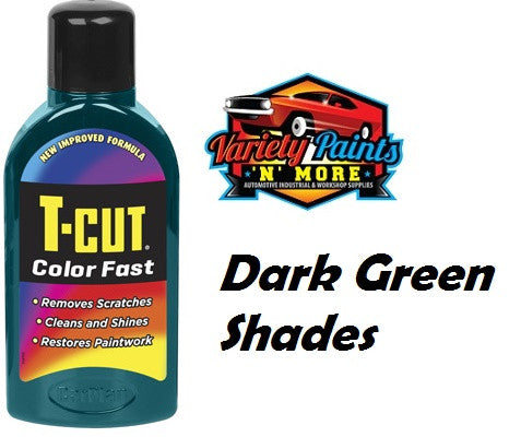 TCut Colorfast Polish Dark Green 500mll Variety Paints N More