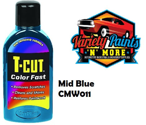 TCut Colorfast Polish  Mid Blue 500ml NEW COLOUR