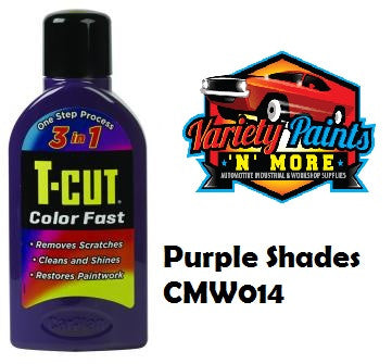 T Cut Colorfast Polish Purple 500ml NEW COLOR