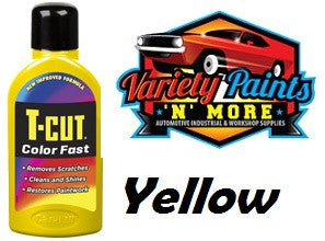 TCut Colorfast Polish Yellow 500ml NEW COLOUR