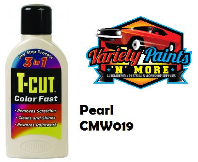 TCut Colorfast Polish Pearl White 500ml NEW COLOUR
