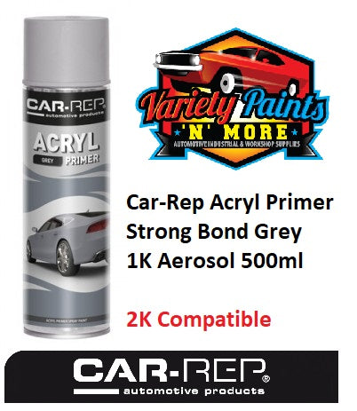 Car-Rep Acryl Primer Strong Bond Grey 1K Aerosol 500ml