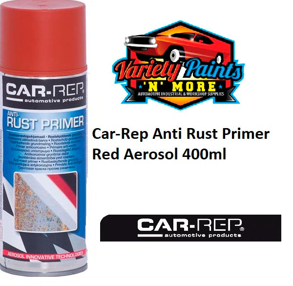 Car-Rep Anti Rust Primer Red Aerosol 400ml