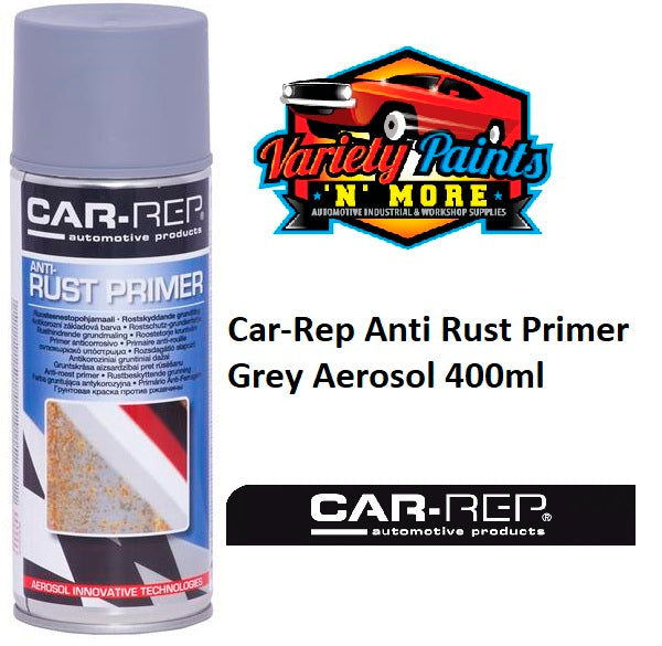 Car-Rep Anti Rust Primer Grey Aerosol 400ml