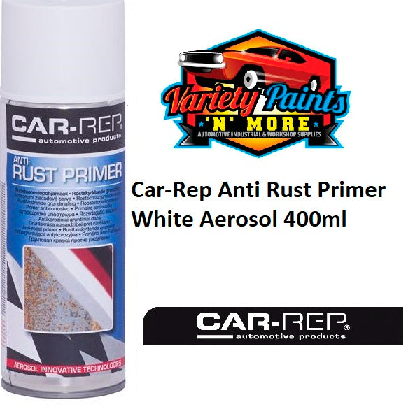 Car-Rep Anti Rust Primer White Aerosol 400ml