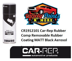 Car-Rep Rubber Comp Removable Rubber Coating MATT Black Aerosol