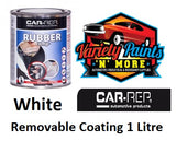 Car Rep Rubber Comp White Removable Coating 1Lt Variety Paints N More