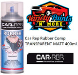 Car-Rep Matt Clear Rubber Comp Removable Coating  Aerosol