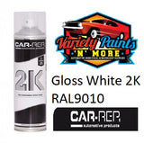 Car-Rep®  2K White Gloss RAL9010 Aerosol 500ml