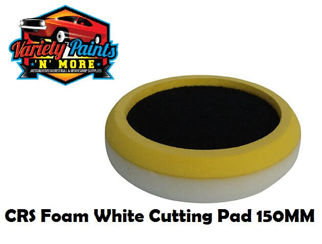 CRS Foam White Cutting Pad 150MM
