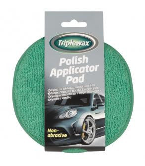 Triplewax Microfibre Polish Applicator Pad