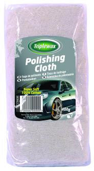 Triplewax Polishing Cloth Cotton 400g