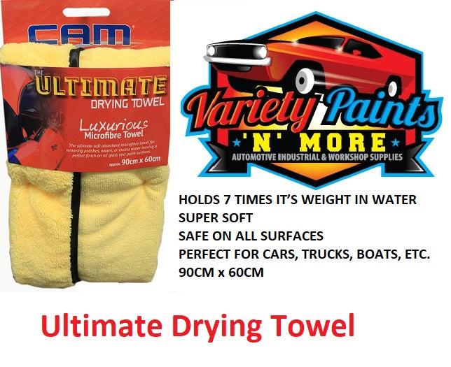 Ultimate Luxurious Microfibre Drying Towel  90cm x 60cm