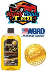 Abro Gold Car Wash 472ml Variety Paints N More