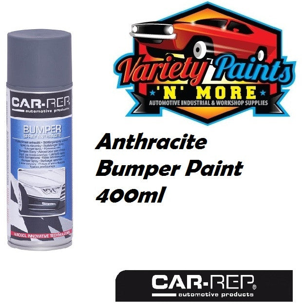 Car-Rep® Anthracite Bumper Paint 400ml  Aerosol