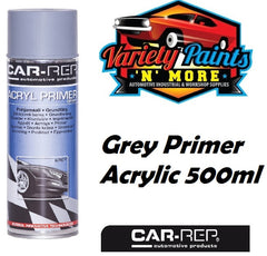 Car-Rep Acrylic Primer Grey Aerosol 500ml Variety Paints N More