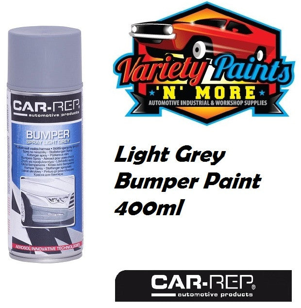 Car-Rep Light Grey Bumper Paint 400ml  Aerosol